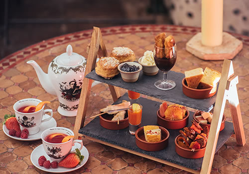 spanish afternoon tea